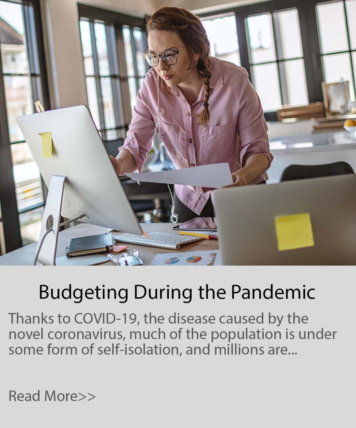 budgeting during the pandemic