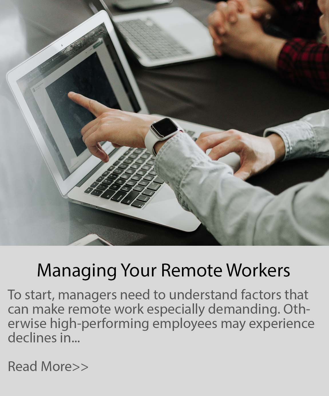 managing your remote workers during pandemic