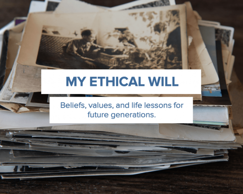 Everplans Ethical Will